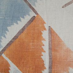 Maud textile, designed for Omega Workshops by Vanessa Bell
