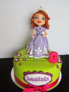 Doces Opções: A princesa Sofia no 3º aniversário da Beatriz
