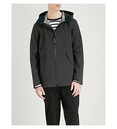 Canada Goose Riverhead Seam-sealed Shell Jacket In Black Black Coldest Place On Earth, Cold Hands, Canada Goose, Hooded Jacket, Shell, Suits, Jackets, Men, Costumes