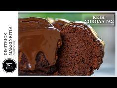 Κέικ Σοκολάτας - ION Sweets από την ΙΟΝ. Γλυκά με σοκολάτα Brownie Cookies, Youtube, Desserts, Food, Tailgate Desserts, Deserts, Essen, Postres, Meals