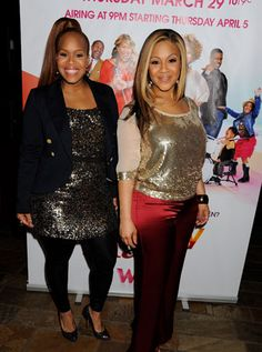 Erica and Tina Campbell's new show is worth checking out. Dope Swag Outfits, Classy Outfits, Stylish Outfits, Curvy Fashion, Plus Size Fashion, Joyful Noise, Mary Mary, Dope Hairstyles, Full Figure Fashion
