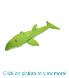 Ausie Naturals Aussie Floatie Dog Toy - Whale, Shark, Dolphin (Whale) Dog Toys, Dolphins, Shark, Dinosaur Stuffed Animal, Pets, Animals, Animales, Animaux, Animal
