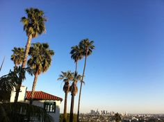 a view from Los Feliz