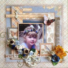 Layout using Maja Walking in the Forest papers.