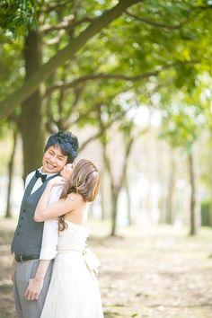 洋装 前撮り(ロケーション) ギャラリー case.02 Love Photos, Couple Photos, Crazy Wedding, Bridal Photoshoot, Wedding Photos, Relationship, Couples, Wedding Dresses, Inspiration