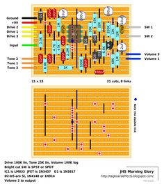Guitar FX Layouts: JHS Morning Glory