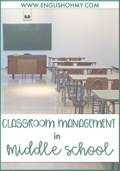Are you looking for classroom management ideas for your middle school classroom? Check out this recent blog post that discusses great tips for classroom management and creating an engaging learning environment.