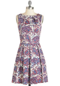 Luck Be a Lady Dress in Potpourri. If youve been searching for an earthy new frock, then youre in luck! #modcloth