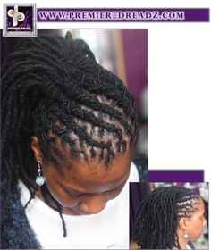 dreadlock styles for women / premiere dreadz