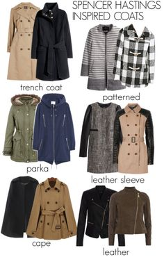 Spencer Hastings inspired winter coats by liarsstyle featuring a cape coat Pretty Little Liars Outfits, Pretty Outfits, Pll Outfits, Fashion Outfits, Fall Winter Outfits, Autumn Winter Fashion, Spencer Hastings Outfits, Preppy Style, So Little Time