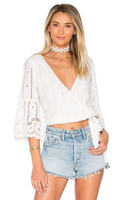 Shop for Tularosa Estelle Top in Shell at REVOLVE. Free 2-3 day shipping and returns, 30 day price match guarantee.