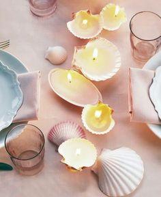 Un bonito detalle para celebrar una fiesta o boda en el mar.