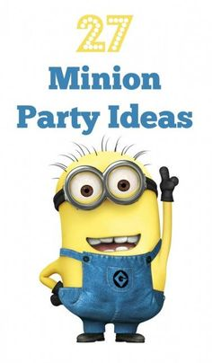 27 Minion Party Ideas | BabyCentre Blog