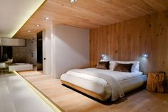 Luxury Wooden Bedroom Decor from Luxury Boutique Hotel Design Ideas in Cape Town South Africa 600x400 Luxury Boutique Hotel Design Ideas in Cape Town, South Africa