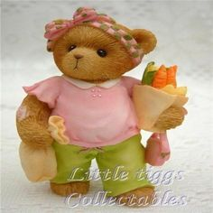 Cherished Teddies Peggy Loves Shopping at the Market #CherishedTeddies #AllOccasions