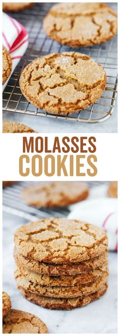 Molasses Cookies - Made To Be A Momma