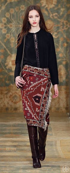 Tory Burch Fall 2015 Look 24