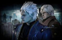 Sons of Sparda ( Dante and Verjil) 2 -DMC4 by kingofshadows26 on DeviantArt