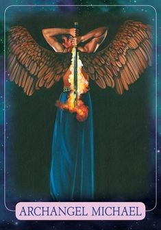 Oracle Card Archangel Michael   Doreen Virtue - Official Angel Therapy Website