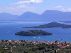 Scorpios #island in #Greece used to belong to Athina Onassis and was sold it to Ekaterina Rybolovleva for about $154 million - bluewateryachting.com