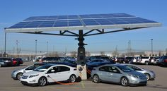 Zonne-energie scoort in groene mobiliteit