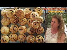 Κίφυλλα Κυπριακά παραδοσιακά με σταφίδες ή σοκολάτα από την Ελίζα - YouTube Muffin, Breakfast, Youtube, Desserts, Food, Morning Coffee, Tailgate Desserts, Deserts, Essen