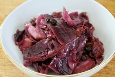 Sous Vide Balsamic-Braised Cabbage with Currants Sous Vide Cooking, Slow Cooking, Sous Vide Vegetables, Braised Cabbage, Vegetarian Paleo, Vegan, Food For Thought, Cooker, Side Dishes