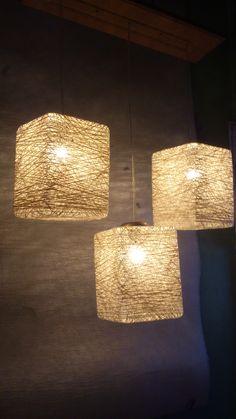 3 Light Abaca Cube