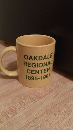 oakdale regional  center  the lapper state home  the lapeer state home for the feeble minded a long long history on a cup