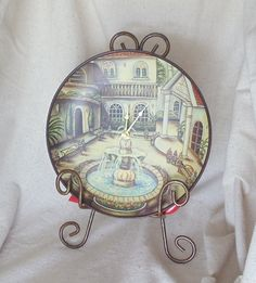 Check out Unique Kitchen Clock,Unusual Plates Made into Wall Clocks, with Wall Hanger #C6001 on ckdesignsforyou