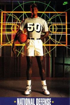 d9e91a5035a335 The Admiral David Robinson  18 ultra-cool vintage NBA posters of the 80 s  Basketball