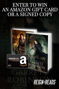 Win a $25 Amazon Gift Card or Signed Copies from Bestselling Author Garrett Robinson. Ends 7/25. #Sweepstakes