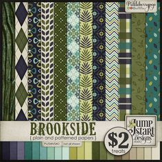 Brookside ~ Papers by Jumpstart Designs