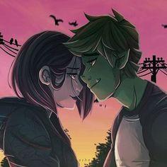 Raven Teen Titans Go, Teen Titans Fanart, Raven Fanart, Raven Beast Boy, Original Teen Titans, Arte Dc Comics, Marvel Comics, Bbrae, Cute Couple Art