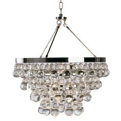 I pinned this Robert Abbey Bling Crystal Chandelier from the Niche Interiors event at Joss & Main!
