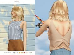 Isobel Top at SERENITY • Sims 4 Updates