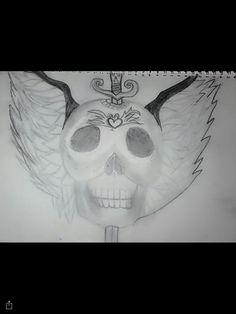 My tattoo design 2: skull