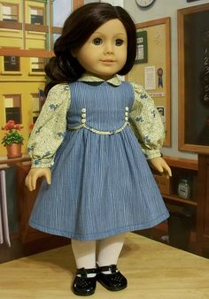 Ruthie's new school frock. 1934 by Keepersdollyduds, via Flickr