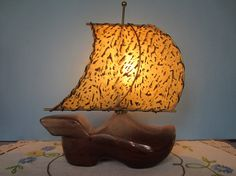 What do you say about a Sailing Shoe Lamp.  Creative?  $15 CAD Find it in Etsy shop FlashbackFinds
