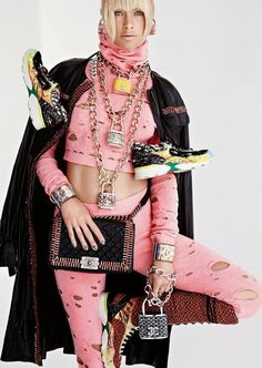 carolyn murphy in chanel by patrick demarchelier for vogue paris august 2014