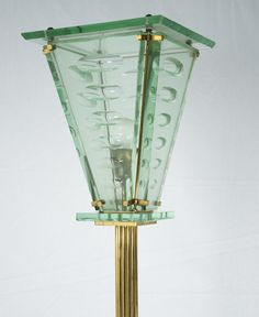 Magnificent floor lamp in the style of Pietro Chiesa and Fontana Arte | Cabina