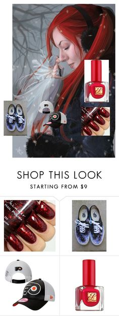 """""""a"""" by utitito on Polyvore featuring Vans, New Era and Estée Lauder"""
