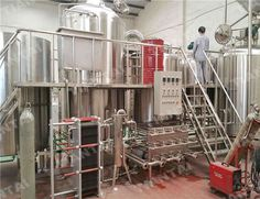 four vessels brewhouse directly fired 20bbl in usa