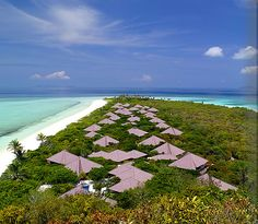 Amanpulo is a luxury resort in the Philippines offering excellent scuba diving and snorkeling on a private island.