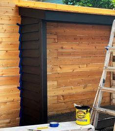 Bluestone Backyard: Build Yourself a Little Storage Shed! | Daniel Kanter Backyard Storage Sheds, Building A Storage Shed, Garden Storage Shed, Backyard Sheds, Restoring Old Houses, Landscaping Retaining Walls, Backyard Landscaping, Pallet Barn, Garden Tool Shed