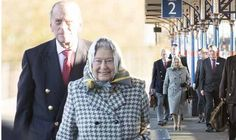 The Queen and Prince Phillip arrive at King's Lynn station She and the Duke of Edinburgh sat with aides in a first class carriage on the four-coach Connect service from King's Cross, their customary route these days to their Norfolk retreat. It is believed that they each paid the standard first class rail fare of £52 for the journey.(Dec 20 2013)