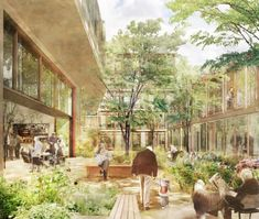 Improving with age? How city design is adapting to older populations | Cities | The Guardian Architecture Design, Architecture Art Nouveau, Architecture Drawings, Ancient Architecture, Sustainable Architecture, Co Housing, Social Housing, Community Housing, Bristol