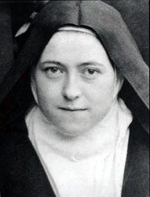 """Everything is a grace.""~St. Therese, my patron Saint--Feast Day October 1"