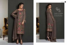 d0a474edcd 10 best Jazmin by BAROQUE... Embroidered chiffon collection images ...