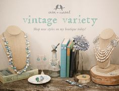 Vintage Variety - Shop new styles on my boutique today! https://www.chloeandisabel.com/boutique/christreadwell#39107